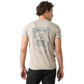 Prana Weekend Wander T-shirt Homme, dark khaki heather